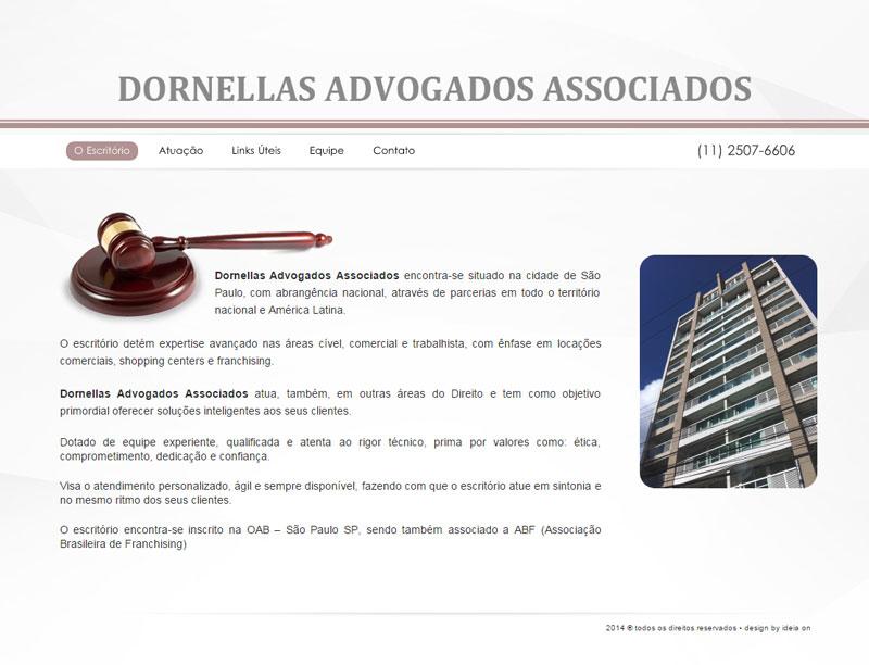 Criação de site para Advogados – Dornellas Advogado