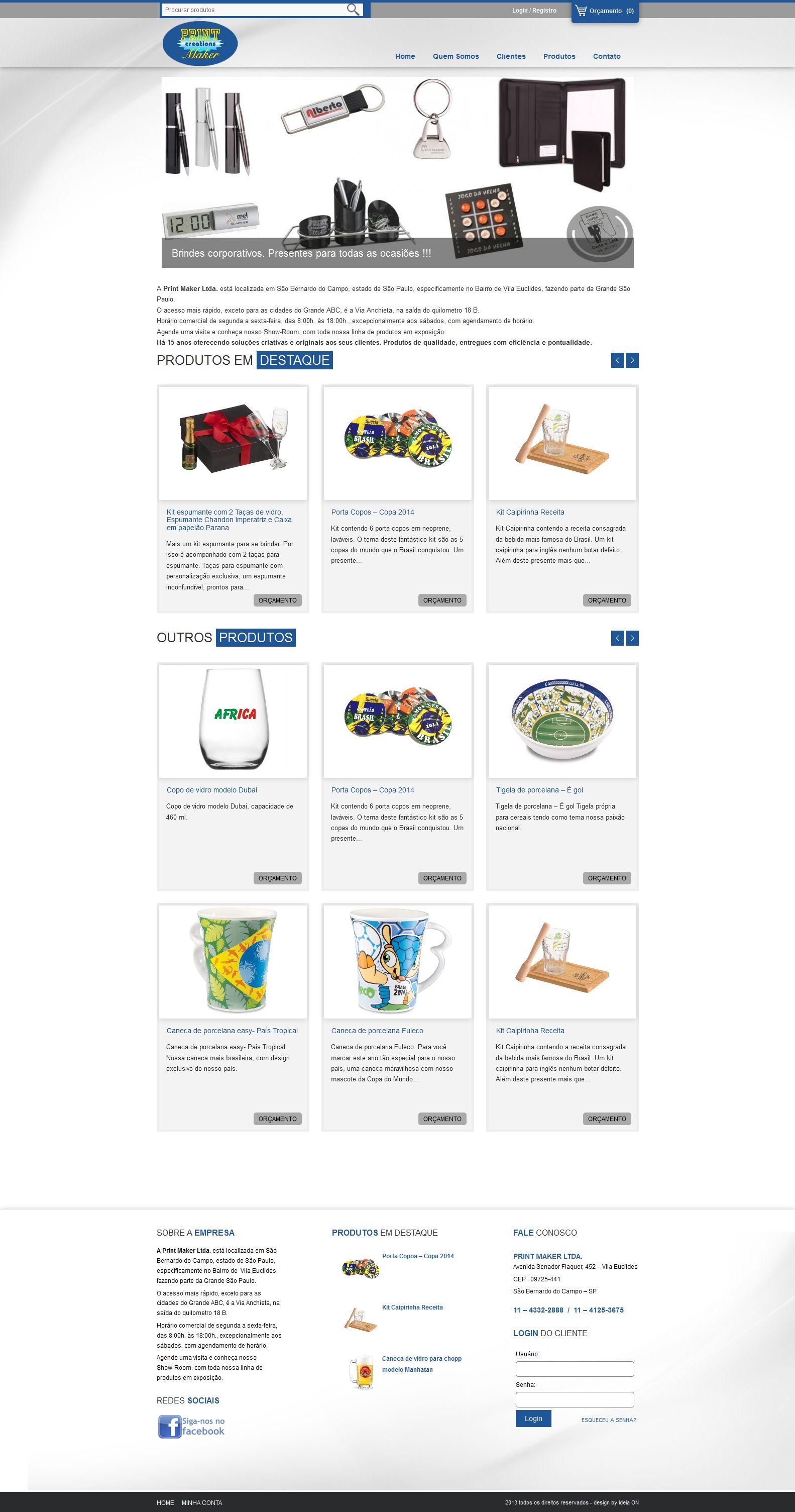 Print Maker - Sistema de pedidos
